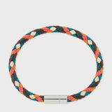 Paul Smith Leather Plaited Bracelet - Multicolor