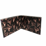 Paul Smith Leather Wallet Shark Tooth - Black