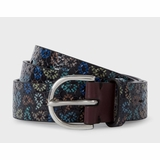 Paul Smith Paisley Print Belt - Multi-colour