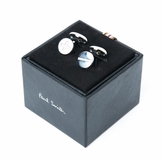 Paul Smith Plus Minus Cufflinks - Silver