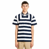 Paul Smith Striped Polo Shir - White