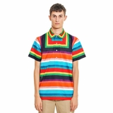 Paul Smith Striped Polo T-shirt- Multicolor