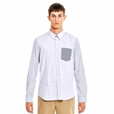 Paul Smith Striped Sleeves Shirt - White