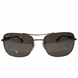 Ray-Ban Square Sunglasses - Silver
