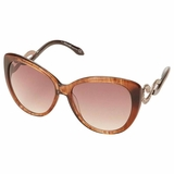 Roberto Cavalli Cat Eye Sunglasses - Brown