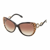 Roberto Cavalli Lens Brown Gradient Sunglasses Dark - Brown
