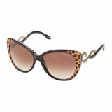 Roberto Cavalli Lens Brown Sunglasses - Dark Brown