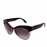Roberto Cavalli Lens Violet Gradient Sunglasses - Brown
