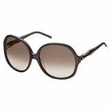 Roberto Cavalli RC657S Bougainvillea 50F Sunglasses - Brown