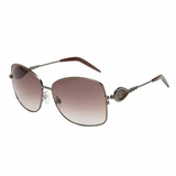 Roberto Cavalli Sunglasses Gunmetal - Pearl Brown