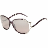 Roberto Cavalli Women's RC530SSW55Z Sunglasses - Purple