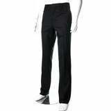 Rock & Republic Flat Front Trouser Pants M134217 Black