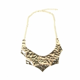 Rock Season Plated Necklace in Gold