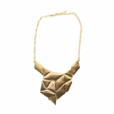 Rock Season Stacy Plated Necklace in Gold