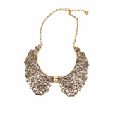 Rock Season Victoria Necklace in Gold