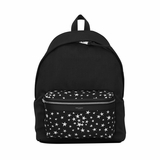Saint Laurent City Canvas Backpack - Black