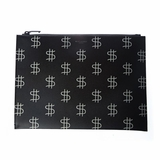 Saint Laurent Dollar Printed Ipad Case - Balck