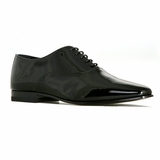 Saint Laurent Dylan 20 Richelieu Shoe - Black