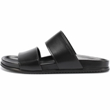 Saint Laurent Jimmy Double Sandals - Black