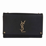 Saint Laurent Kate Nautical Chain Evening Bag - Black