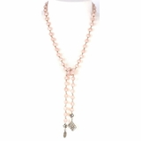 Saint Vintage Charm Necklace - Pink