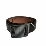 Salvatore Ferragamo Leather Belt - Black
