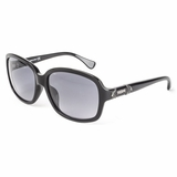 Tod's 0027/01B Shiny Gray Gradient Sunglasses with Case - Black