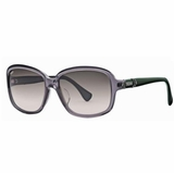 Tod's 0027/20B Transparent Gradient Sunglasses with Case - Gray