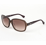 Tod's 0027/93F Shiny Light Shaded Sunglasses with Case - Brown