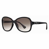Tod's 0028/01F Grey Gradient Sunglasses with Case - Black