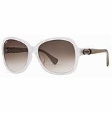 Tod's 0028/21F Brown Gradient Sunglasses with Case - White