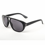 Tod's 0034/01A Shiny Grey Gradient Sunglasses with Case - Black