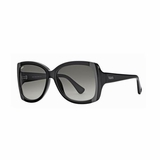 Tod's 0041/01B  Gray Gradient Sunglasses with Case - Black