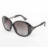 Tod's 0042/01B Shiny Grey Gradient Sunglasses with Case - Black