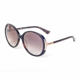 Tod's 0049/52F Havana Gradient Sunglasses with Case  Brown