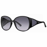 Tod's 0054/01B Black Grey Gradient Sunglasses with Case - Black