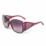 Tod's 0054/51B Violet Gradient Sunglasses with Case - Raspberry
