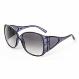 Tod's 0054/90B Crystal Grey Gradient Sunglasses with Case Navy