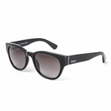 Tod's 0060/01B Shiny Grey Gradient Sunglasses with Case - Black