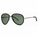Tod's 0063/01N Green Shaded Aviator Sunglasses with Case  Black