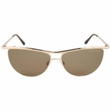 Tom Ford Aviator Sunglasses - Gold/Brown