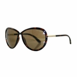 Tom Ford Oversized Sunglasses - Dark Havana