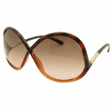Tom Ford Oversized Sunglasses Lens Light Brown Gradient - Dark Havana
