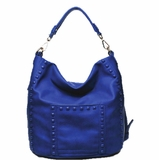 Urban Expressions Ambrosia Handbag Vegan Leather Purse - Cobalt Blue