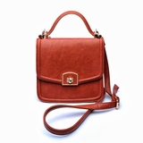Urban Expressions Charmer Messenger Bag - Rust
