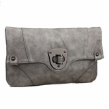 Urban Expressions Chelsea Clutch - Pewter