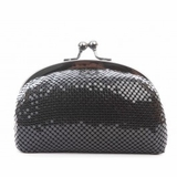 Urban Expressions Luxe Sequin Clutch Black
