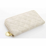 Urban Expressions Mayfair Zip Around Wallet Beige