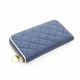 Urban Expressions Mayfair Zip Around Wallet Blue