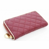Urban Expressions Mayfair Zip Around Wallet Red